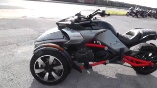 Download 001120 - 2015 Can Am Spyder F3 S - Used Motorcycle For Sale Video