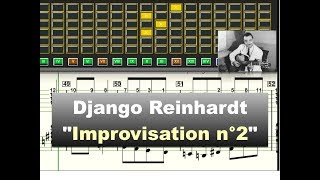Download Django Reinhardt - ″Improvisation n°2″ (1938) - Virtual Guitar Transcription by Gilles Rea Video