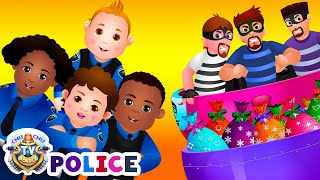 Download ChuChu TV Police Chase Thief in Railroad Police Car & Save Giant Surprise Eggs Toys, Gifts for Kids Video