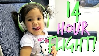 Download 14 Hour Flight to The PHILIPPINES!!!- January 10, 2017 ItsJudysLife Vlogs Video