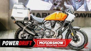 Download Harley-Davidson Pan America 1250 : ADV or a tank? : EICMA 2019 : PowerDrift Video