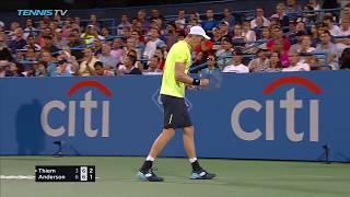 Download Anderson ousts Thiem; Nishikori edges del Potro   Citi Open Washington 2017 Highlights Day 4 Video