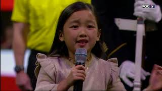 Download 7 year old Malea Emma crushes the national anthem AGAIN at 2018 MLS Cup Video