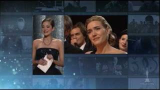 Download Kate Winslet winning Best Actress for ″The Reader″ Video