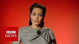Download Angelina Jolie Pitt: Refugee system breaking down - BBC News Video