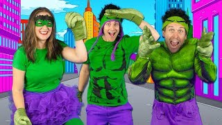 Download Kids Superhero Song - Let's Be Superheroes | Action Songs for Kids - Bounce Patrol Video