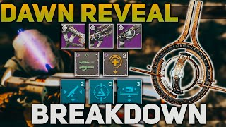 Download Solar Subclass Gameplay, Prophecy Weapons, & Artifact Mods + NEW Mods | Destiny 2 Season of Dawn Video