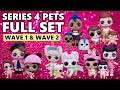 Download LOL Surprise Series 4 Pets FULL SET FAMILIES | L.O.L. Eye Spy Pets Wave 1 + 2 Family Reunions Video