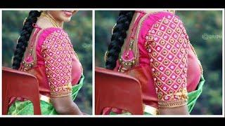 Download Hand Made Designer Sleeves Same Like Aari Work | Very Simple & Easy To Make Video