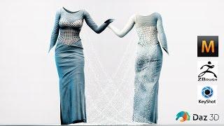 Download Marvelous Designer 5 - Time Lapse - Experiment with Pattern - Dress Not Disney Frozen Elsa Video