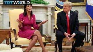 Download Nikki Haley Resign: Haley resigns from UN Ambassador post Video