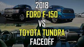 Download 2018 Ford F-150 Platinum vs. 2018 Toyota Tundra Platinum: Faceoff Comparison Video