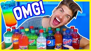 Download MIXING EVERY SODA FLAVOR TOGETHER - TASTE EXPERIMENT! Video