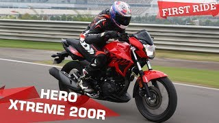 Download Hero Xtreme 200R Review: Extreme Surprise? | First Ride Video