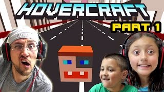 Download Dad & Kids play HOVERCRAFT Part 1: The DUDDY Craft! Our 1st High Score! (FGTEEV FAMILY GAMEPLAY) Video