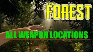 Download ALL WEAPON LOCATIONS V0.50 - The Forest Video