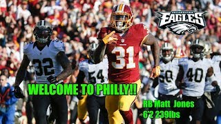 Download Eagles Making Moves!!! Sign RB Matt Jones To Crowded Backfield!!! Video