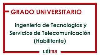 Download Presentación del Grado en Ingeniería de Tecnologías y Servicios de Telecomunicación Video