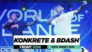 Download Konkrete & BDash | FrontRow | World of Dance New Jersey 2018 | #WODNJ18 Video