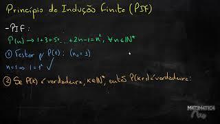 Download PIF - PRINCÍPIO DA INDUÇÃO FINITA - Indução Matemática   Matemática Rio Video