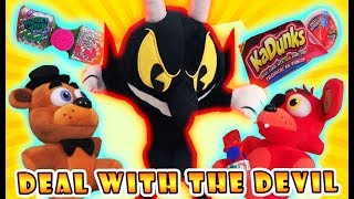 Download Five Nights at Freddy's Plush vs Cuphead Devil ″Don't Deal with Devil Candy″ Fnaf Kadunks Fidget Pop Video
