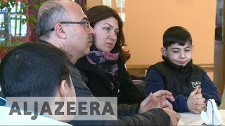 Download Syrian refugee family fights to be reunited Video