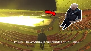 Download POLICE ESCAPE IN STADIUM! *WE GOT AWAY* Video