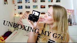Download UNBOXING MY Canon Powershot G7x mark II + mini review Video