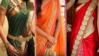 Download 3 Different Ways of Wearing Saree to Look Slim with Perfect Thin Pleats | Tips to Drape Saree Pallu Video