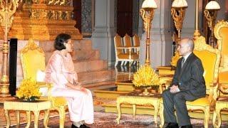 Download Princess Maha Chakri Sirindhorn During The Royal visit to the Kingdom of Cambodia TVK Video