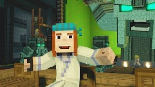 Download Minecraft Story Mode - BEHIND THE SCENES Funny Choices Video with Petra and Jack Video