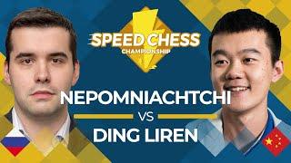 Download Ian Nepomniachtchi vs. Ding Liren: 2019 Speed Chess Championship! Video