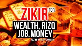 Download This POWERFUL ZIKIR Will Give You Wealth, Rizq , Money, Good Job Insha Allah ᴴᴰ Video