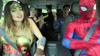 Download Super Hero Carpool Ride Video