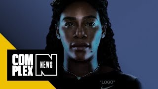 Download Virgil Abloh Designs Serena Williams' US Open 'Power Suit' and Off-White Nike Collection Video