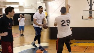 Download HALF COURT CHALLENGE VS NBA PLAYER ENES KANTER Video