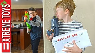 Download Sneak Attack Squad Training Part 2! Mystery Box Nerf Battle Video