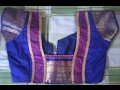 Download Latest Blouse Back Neck Designs with Borders | Ladies Corner Video