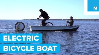 Download Can an Electric Bicycle Wheel Power a Boat? Video