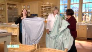 Download How to Fold a Fitted Sheet ⎢Martha Stewart Video