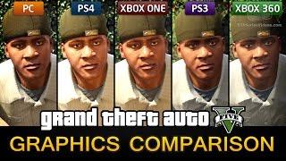 Download GTA 5 Graphics Comparison - PC / PS4 / Xbox One / PS3 / Xbox 360 Video