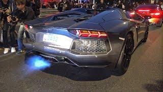 Download Lamborghini Aventador Roadster Spitting Flames! Video