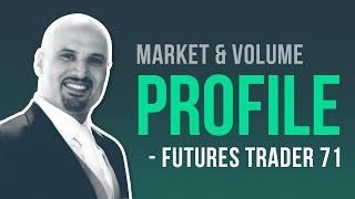 Download Trading market profile & volume profile w/ Futures Trader 71 Video