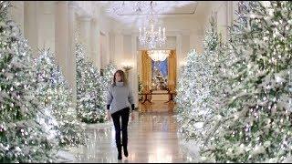 Download Compare Melania Trump to Michelle Obama's White House Christmas decor Video