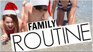 Download Family Routine for the Holidays! Video