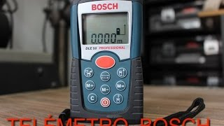 Download TELÉMETRO BOSCH DLE 50 Video