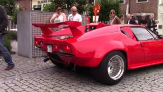 Download De Tomaso Pantera arriving and leaving Cars & Coffee Video