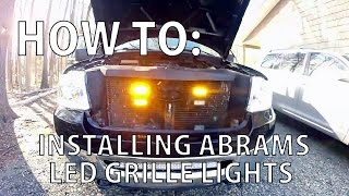 Download HOW TO: Installing Abrams LED Grille Lights Video