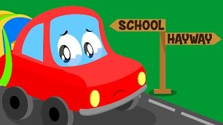 Download Little Red Car | Lost Car Original Song For kids | Cartoon about cars for kids Video