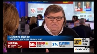 Download Election Night Michael Moore Predicts Donald Trump Success Winning 2016 Election Video